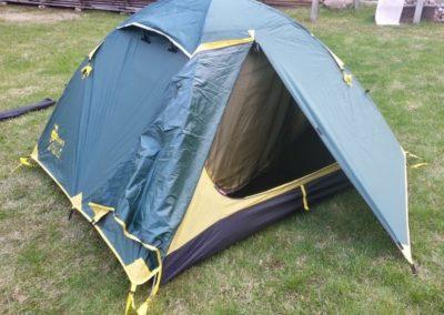 Палатка в разложенном состоянии