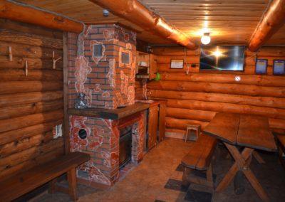 Мини-кухня с теплыми полами