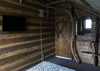 Гостевой домик. Спальня на втором этаже